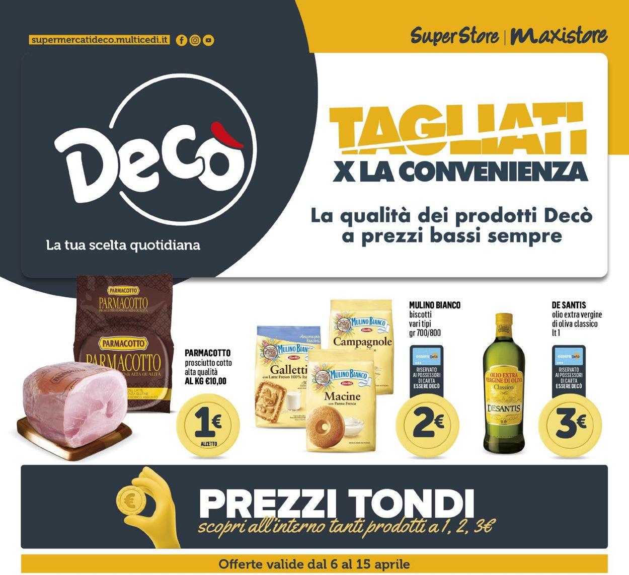 Volantino Deco - Offerte 06/04-15/04/2021