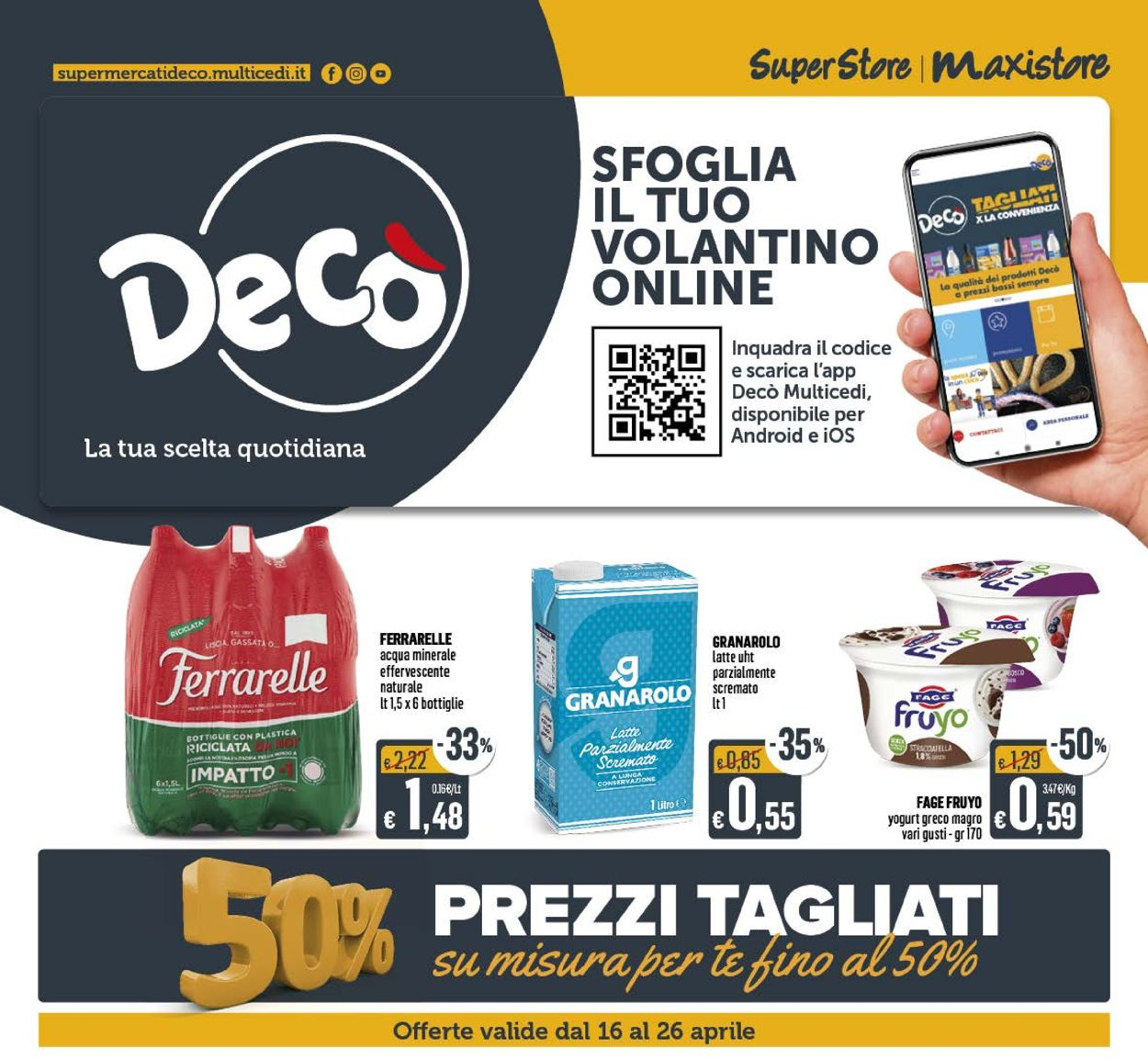 Volantino Deco - Offerte 16/04-26/04/2021