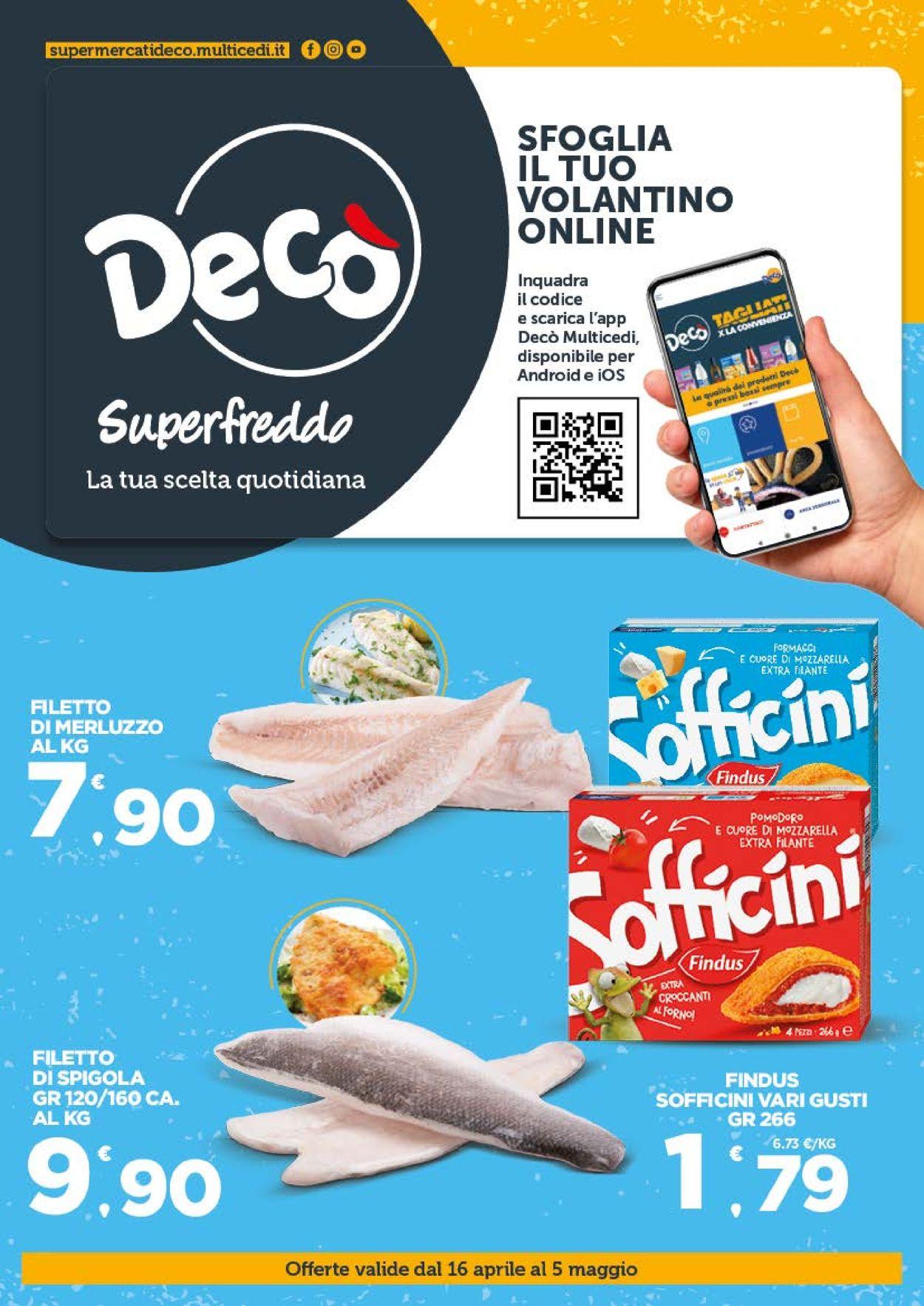 Volantino Deco - Offerte 16/04-05/05/2021