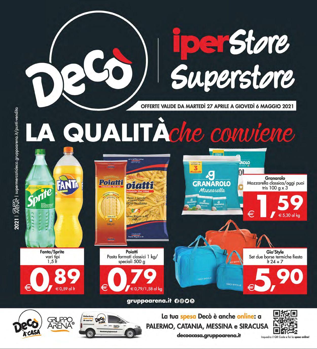 Volantino Deco - Offerte 27/04-06/05/2021