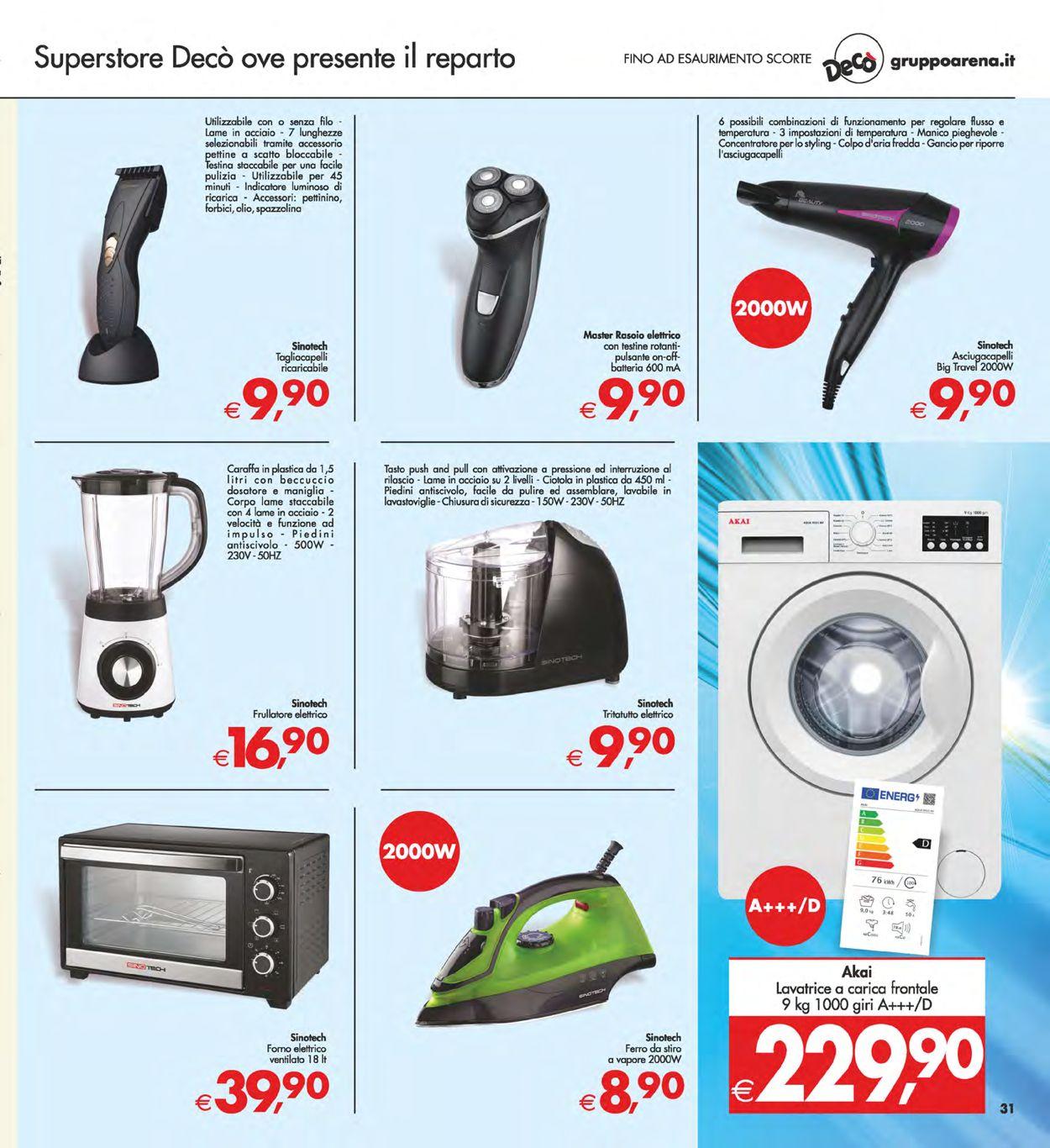 Volantino Deco - Offerte 07/05-17/05/2021 (Pagina 31)