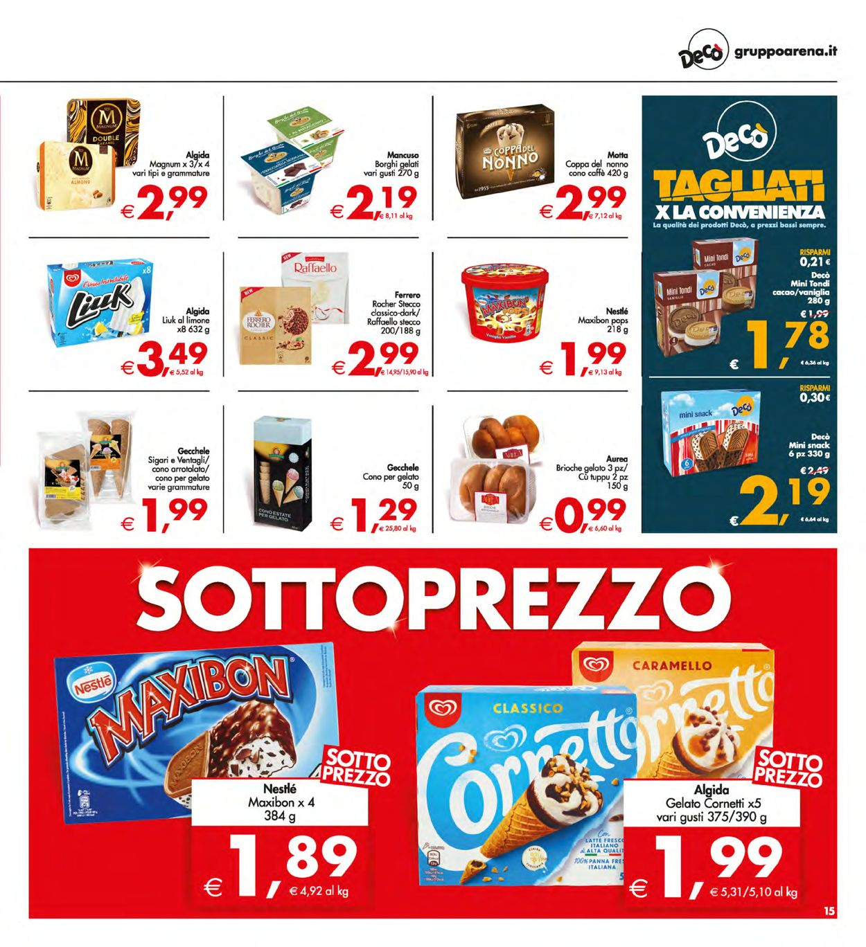 Volantino Deco - Offerte 28/05-07/06/2021 (Pagina 15)