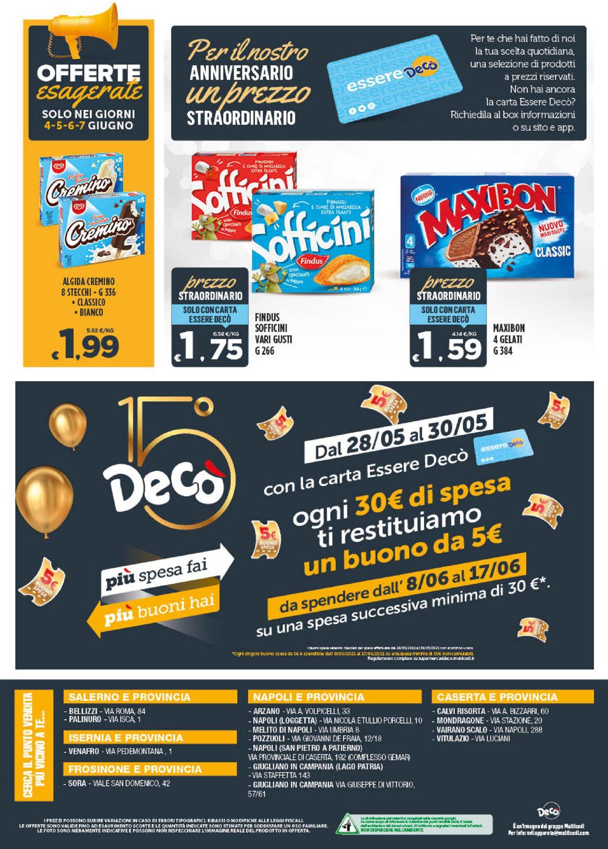 Volantino Deco - Offerte 28/05-07/06/2021 (Pagina 8)