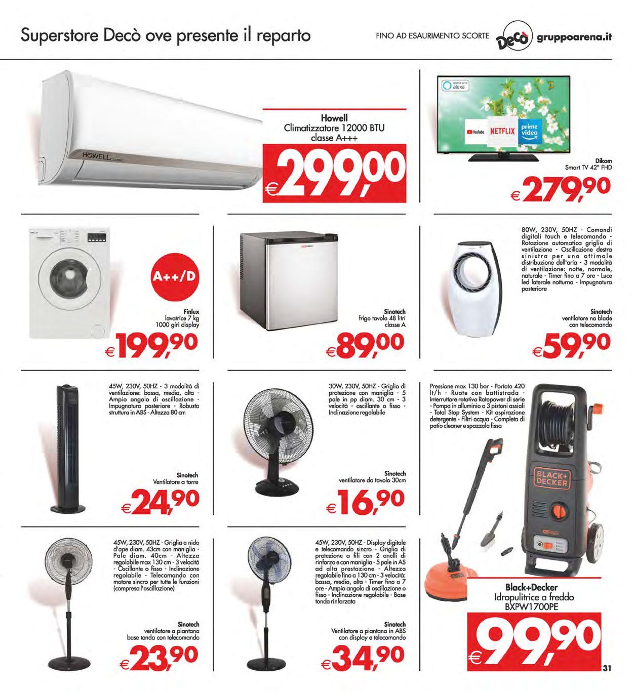 Volantino Deco - Offerte 08/06-17/06/2021 (Pagina 31)
