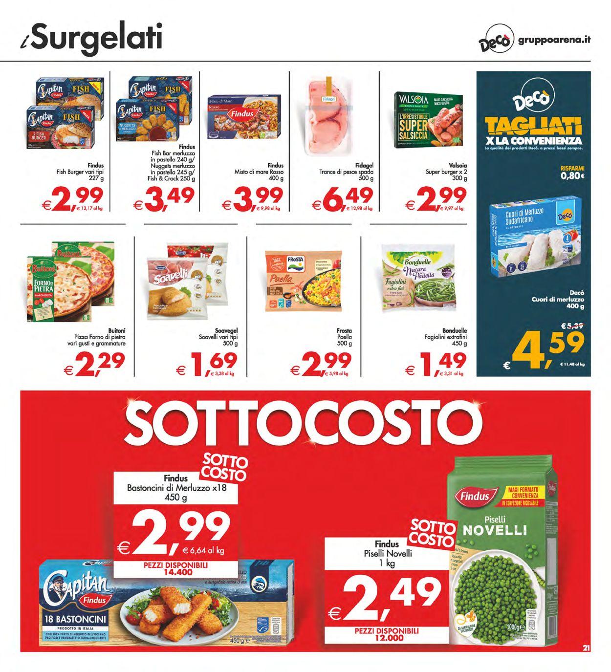 Volantino Deco - Offerte 29/06-08/07/2021 (Pagina 21)