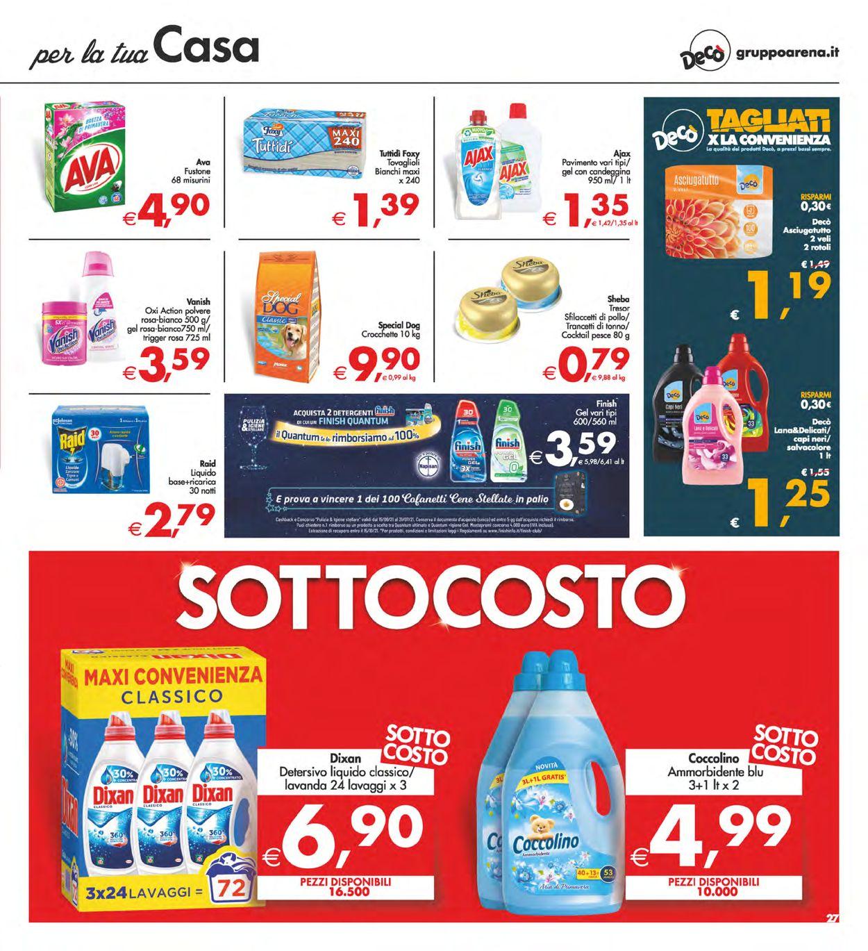 Volantino Deco - Offerte 29/06-08/07/2021 (Pagina 27)