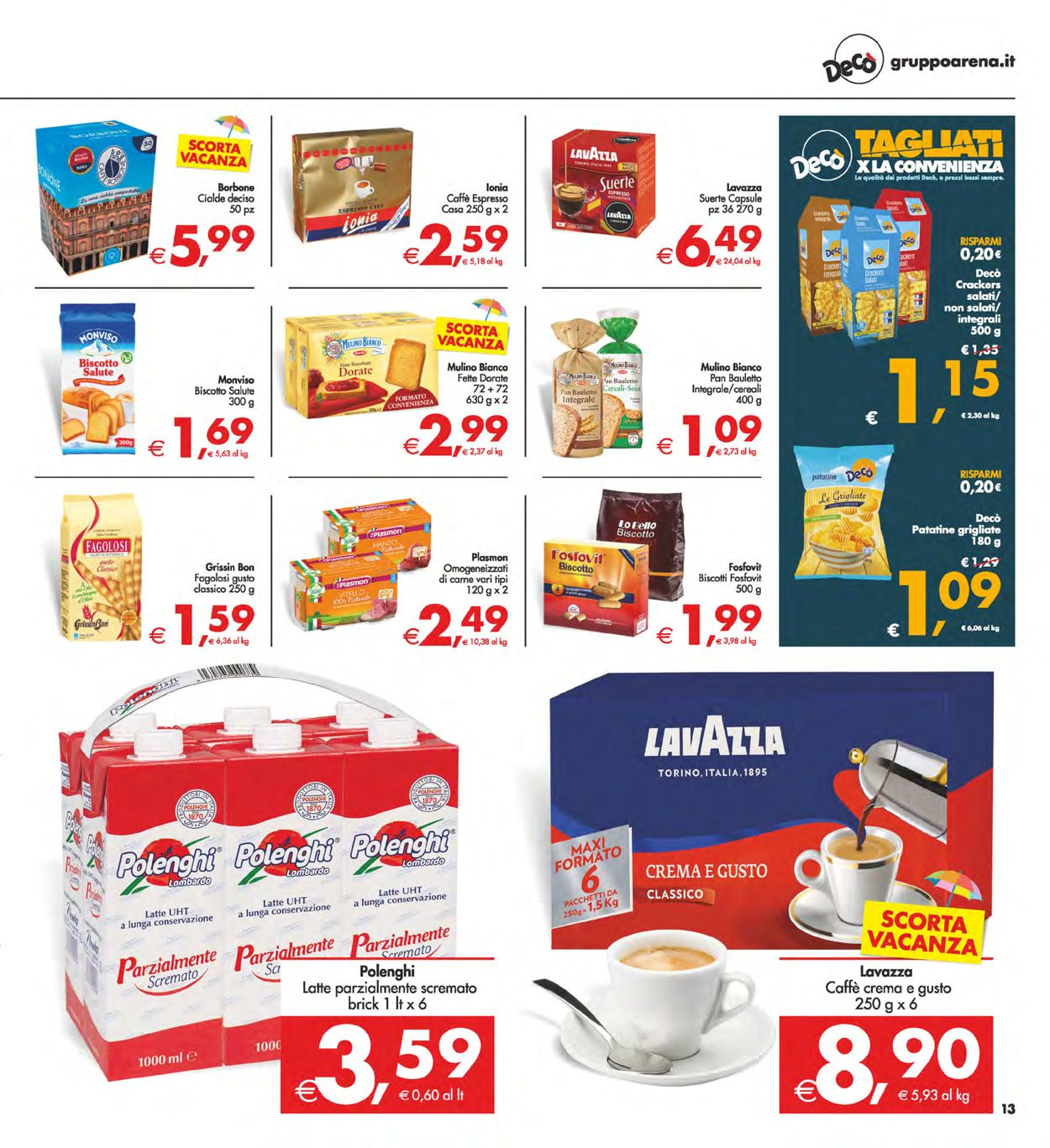 Volantino Deco - Offerte 30/07-09/08/2021 (Pagina 13)