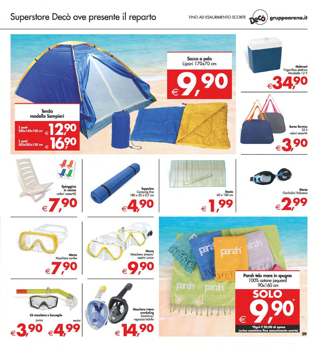 Volantino Deco - Offerte 30/07-09/08/2021 (Pagina 29)