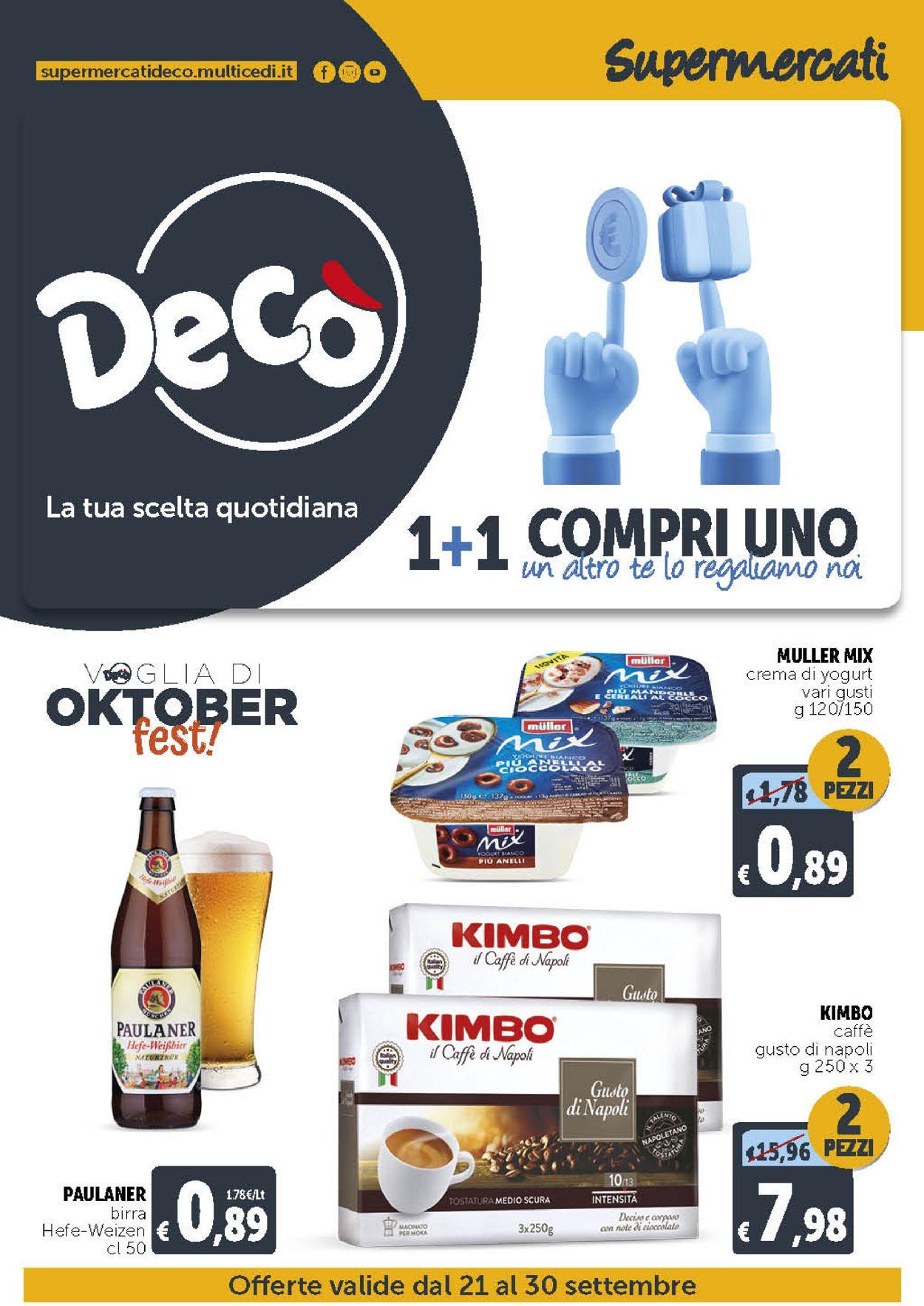 Volantino Deco - Offerte 21/09-30/09/2021