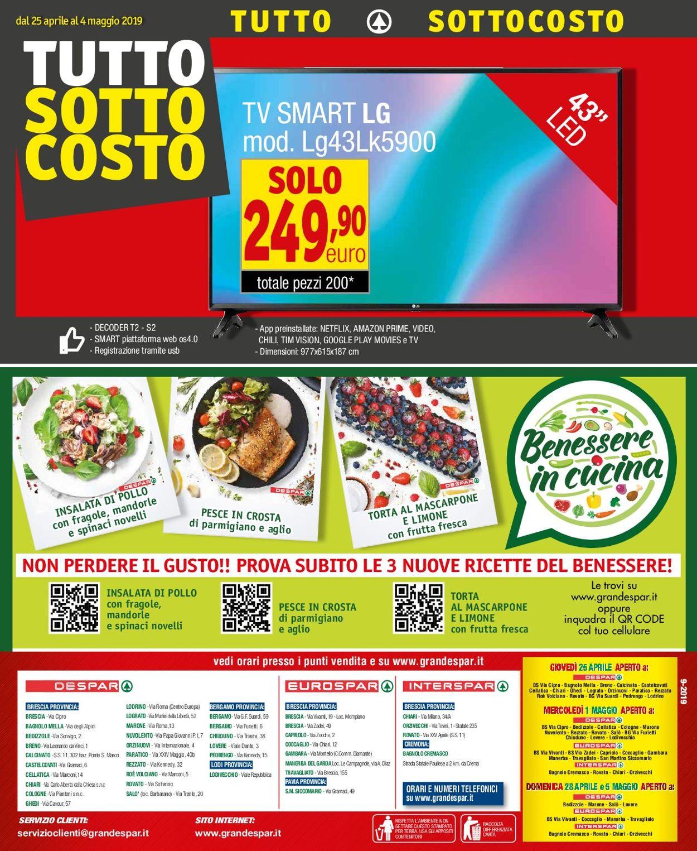 Volantino Despar - Offerte 24/04-07/05/2019 (Pagina 24)
