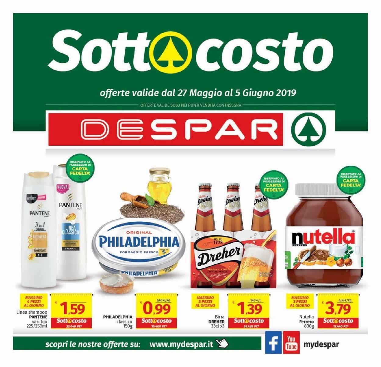 Volantino Despar - Offerte 27/05-05/06/2019