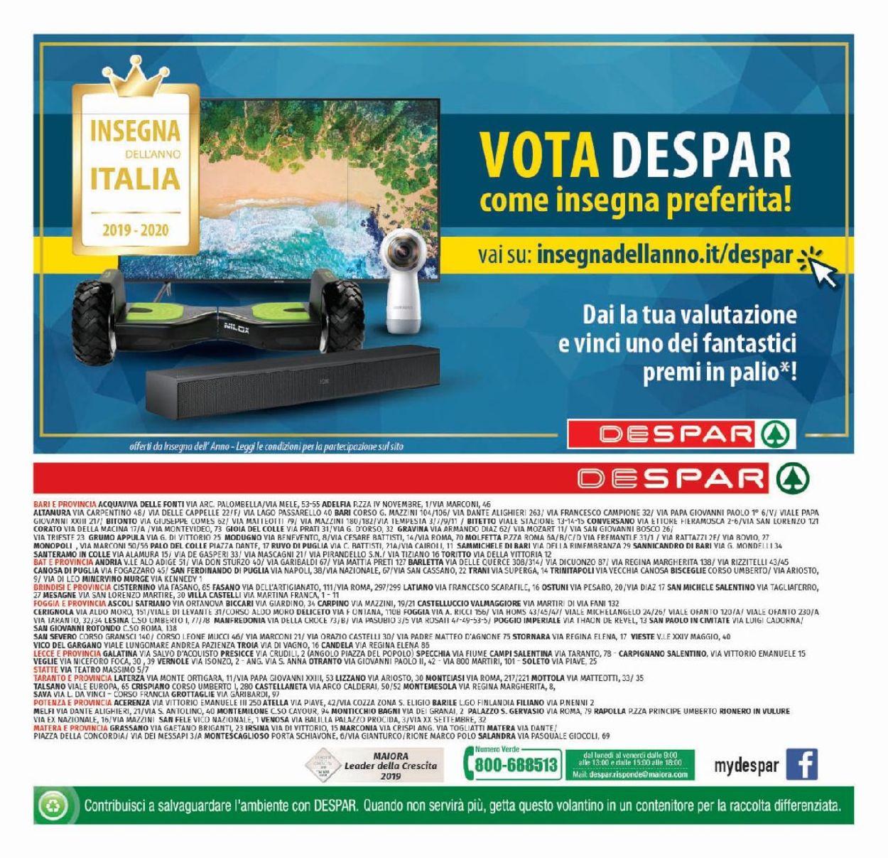 Volantino Despar - Offerte 08/07-17/07/2019 (Pagina 20)
