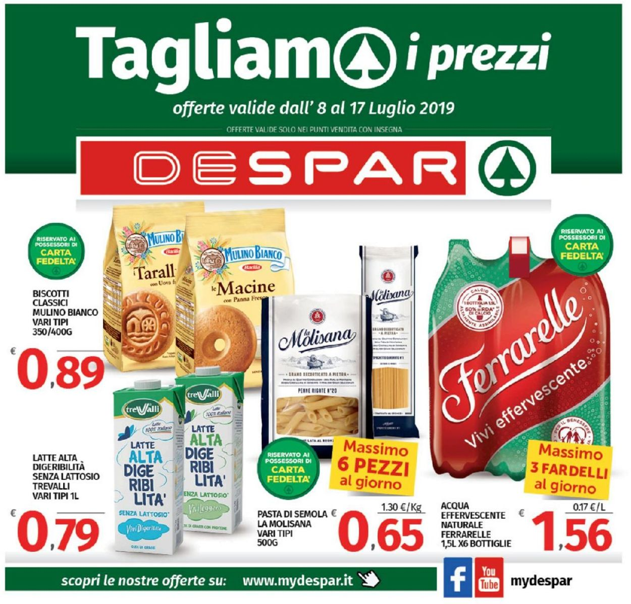 Volantino Despar - Offerte 08/07-17/07/2019