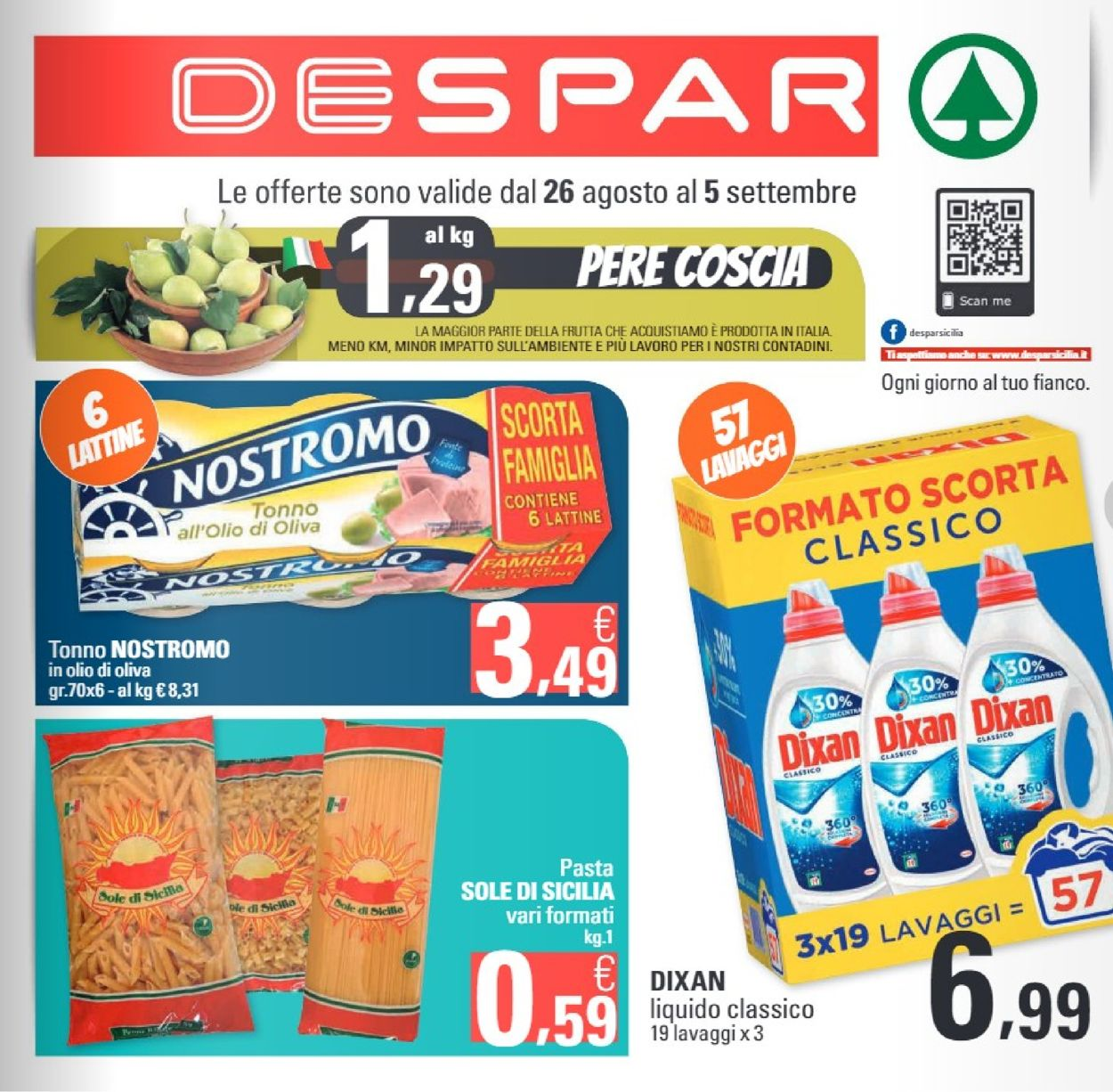 Volantino Despar - Offerte 26/08-05/09/2019