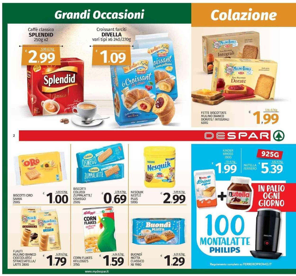 Volantino Despar - Offerte 09/09-18/09/2019 (Pagina 2)