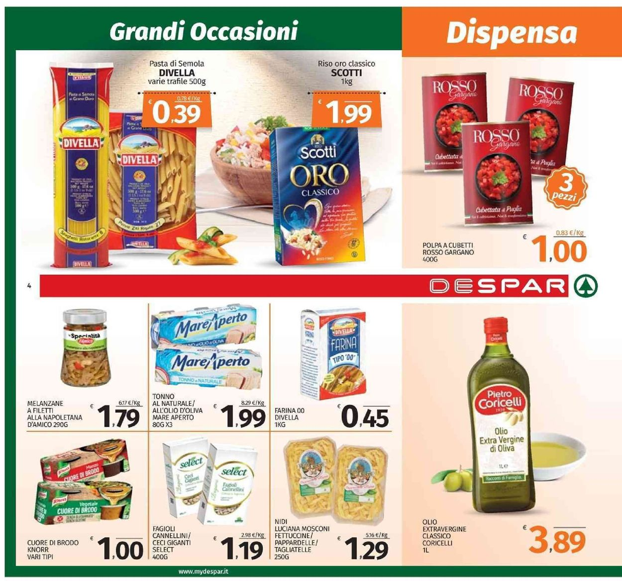 Volantino Despar - Offerte 09/09-18/09/2019 (Pagina 4)