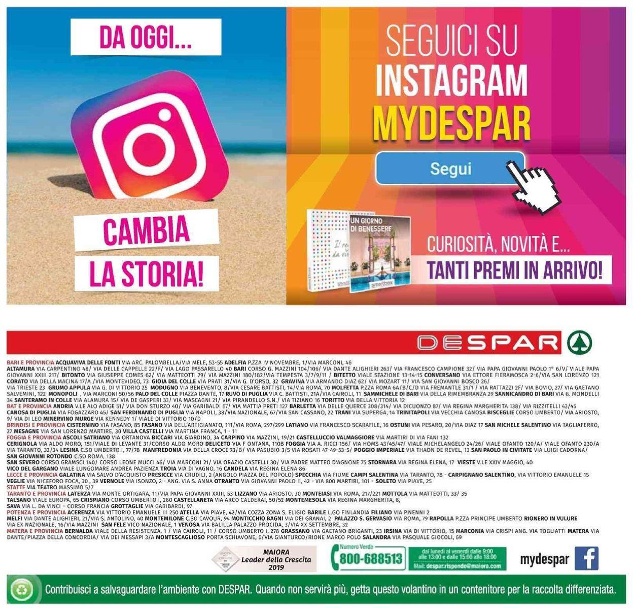 Volantino Despar - Offerte 09/09-18/09/2019 (Pagina 16)