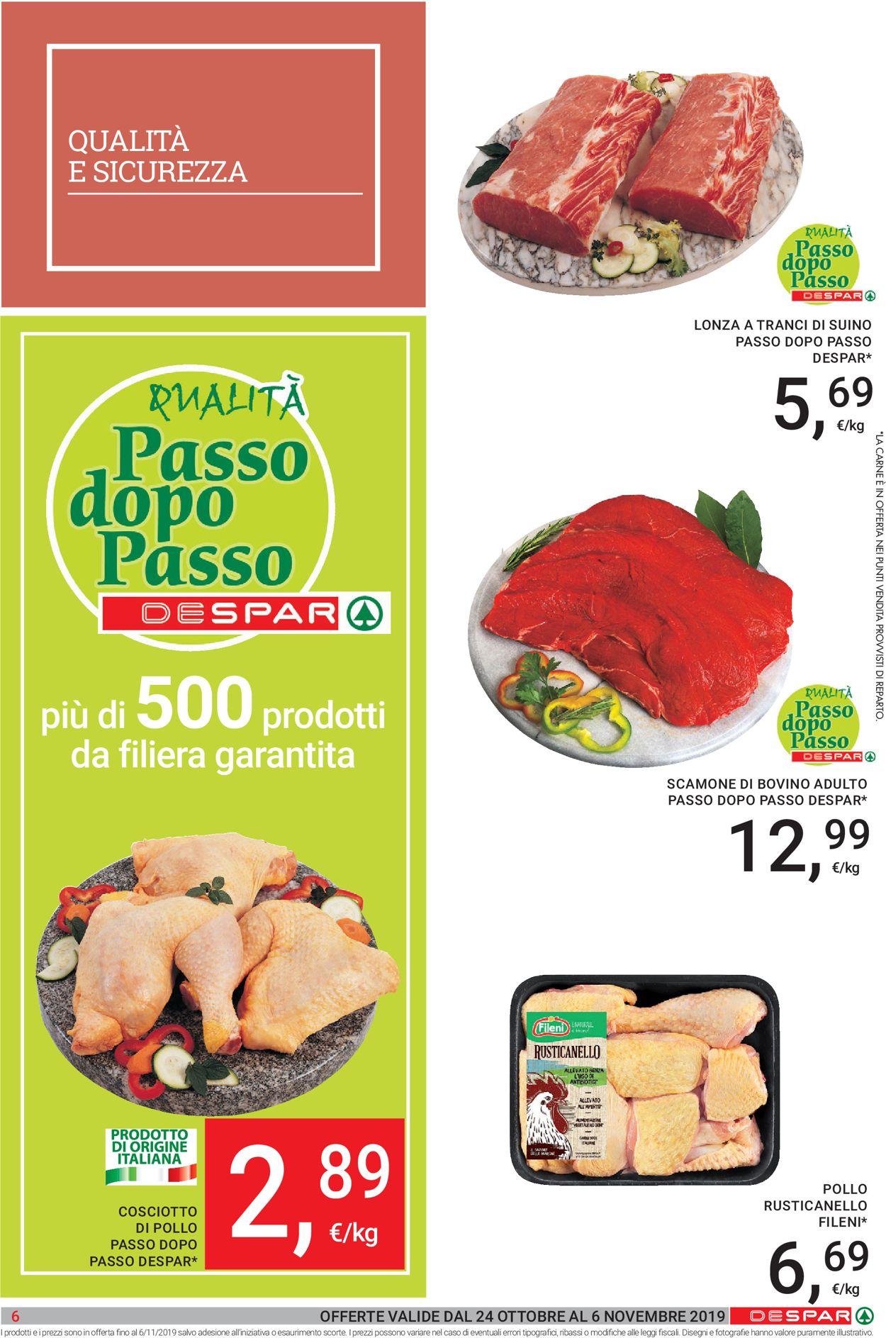 Volantino Despar - Offerte 24/10-06/11/2019 (Pagina 6)