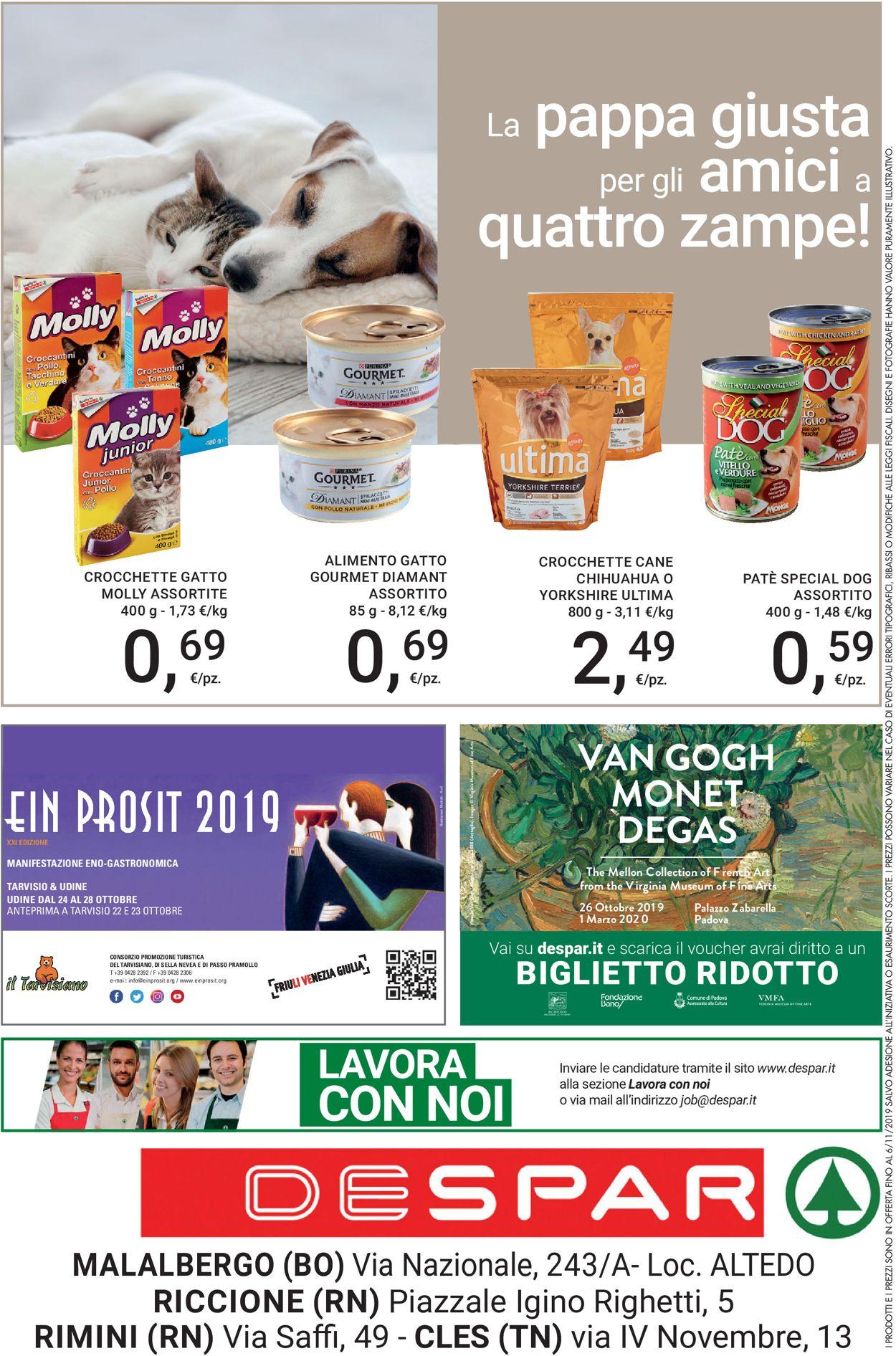 Volantino Despar - Offerte 24/10-06/11/2019 (Pagina 20)