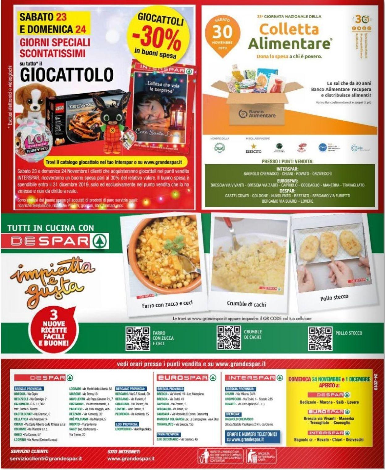 Volantino Despar - Offerte 20/11-03/12/2019 (Pagina 24)
