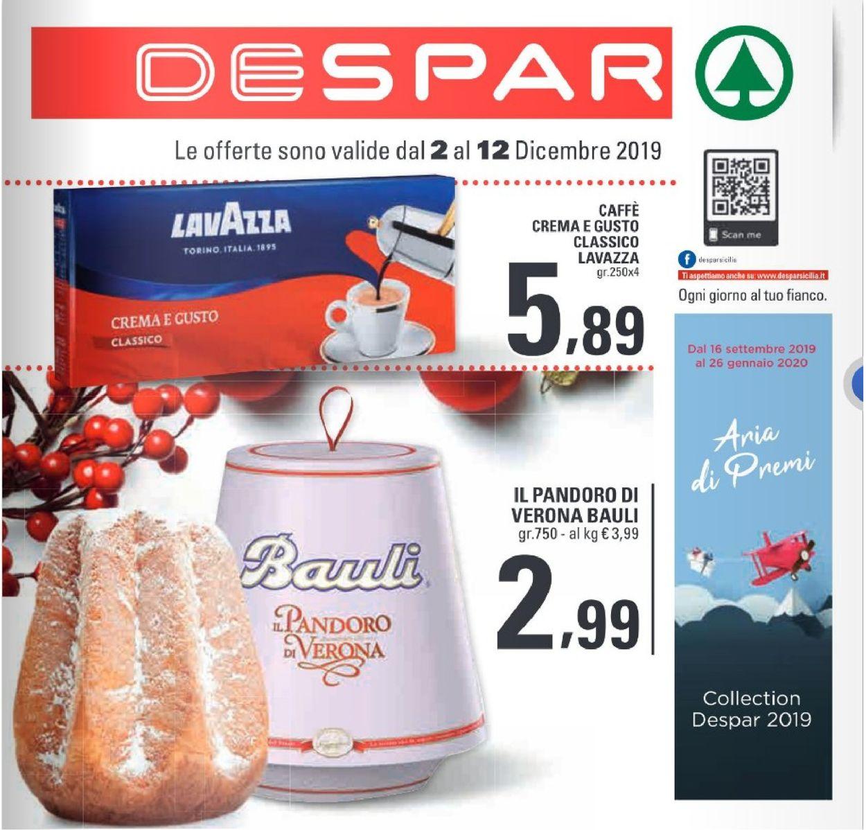 Volantino Despar - Offerte 02/12-12/12/2019