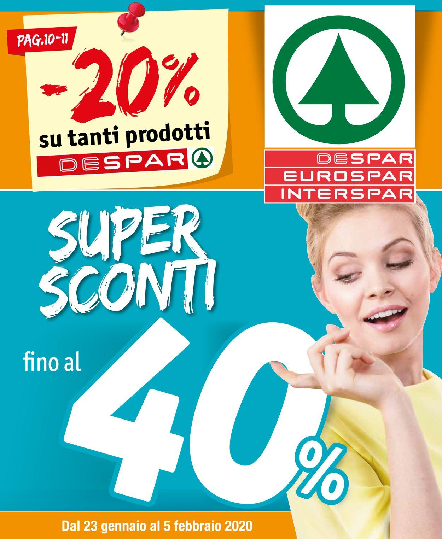 Volantino Despar - Offerte 23/01-05/02/2020
