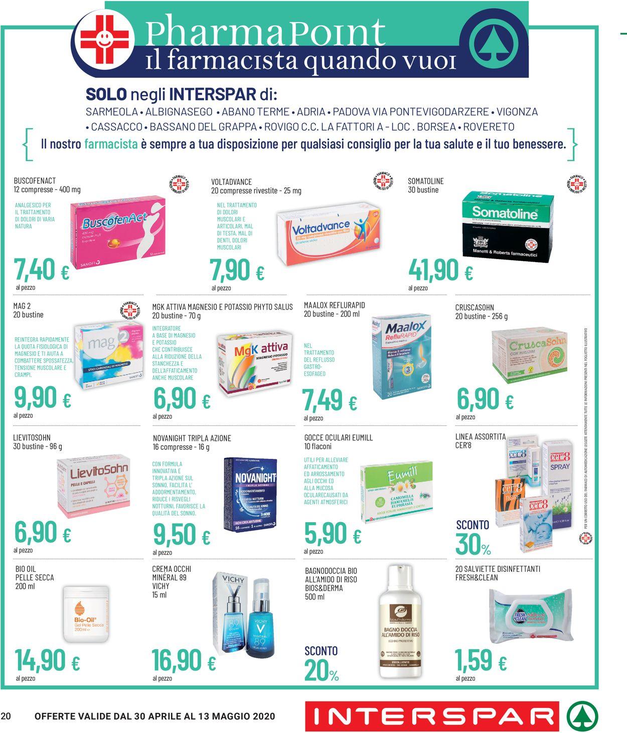 Volantino Despar - Offerte 30/04-13/05/2020 (Pagina 20)