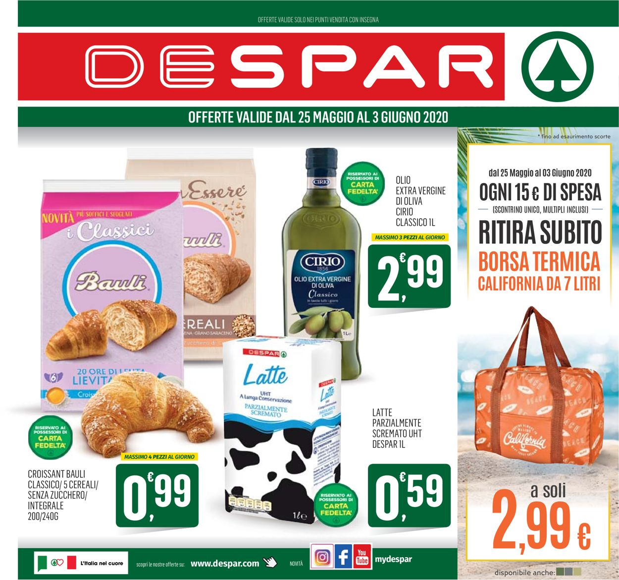 Volantino Despar - Offerte 24/05-03/06/2020