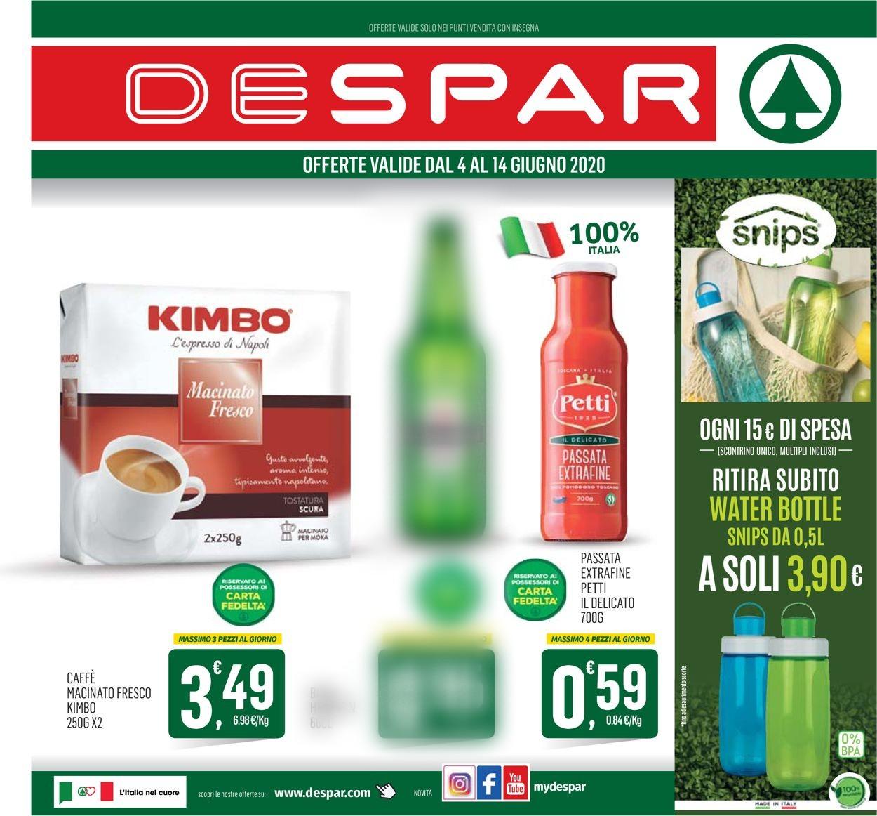 Volantino Despar - Offerte 03/06-14/06/2020
