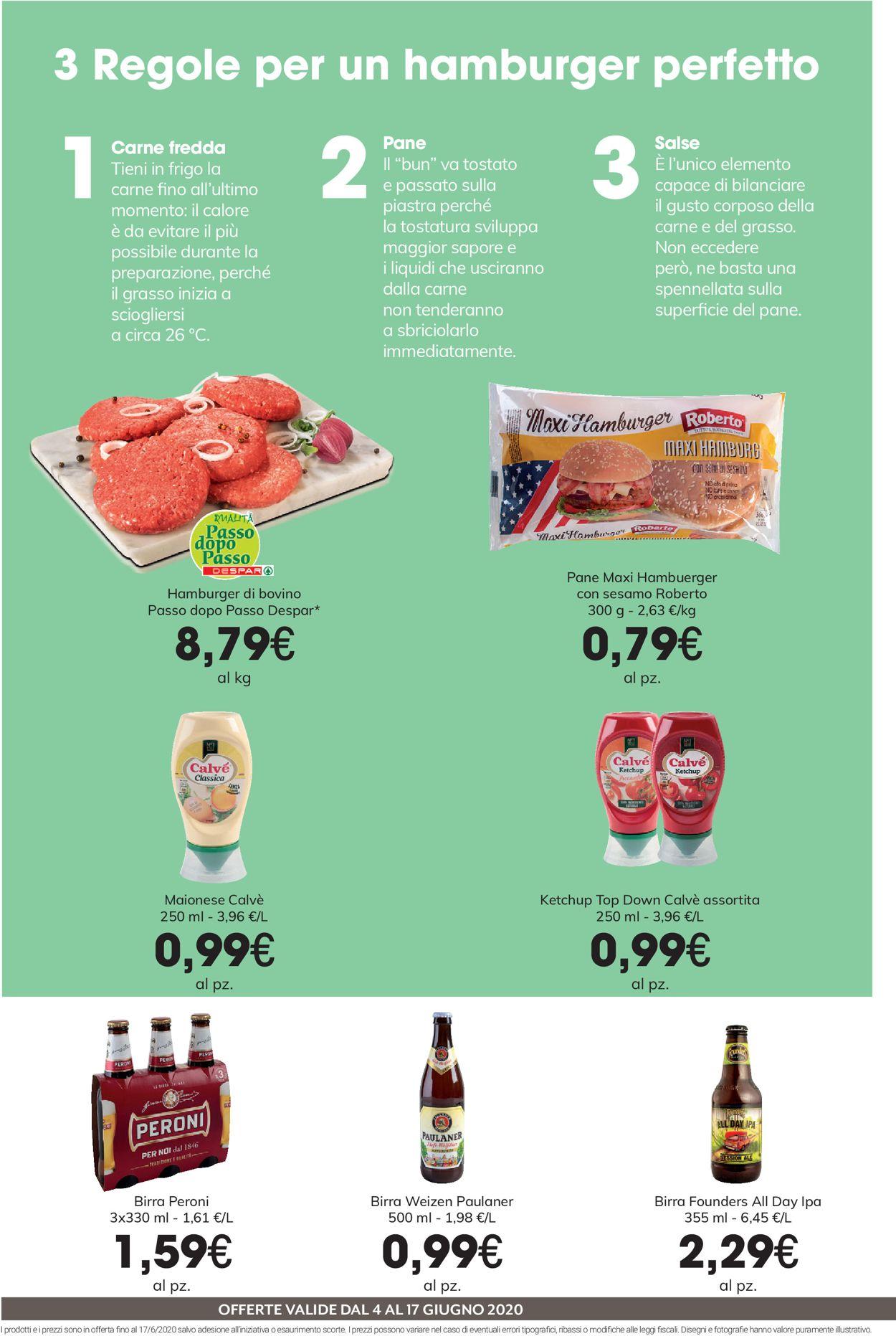 Volantino Despar - Offerte 04/06-17/06/2020 (Pagina 4)