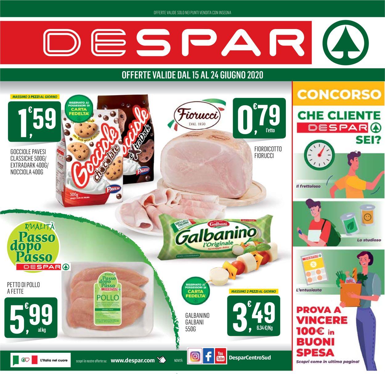 Volantino Despar - Offerte 14/06-24/06/2020