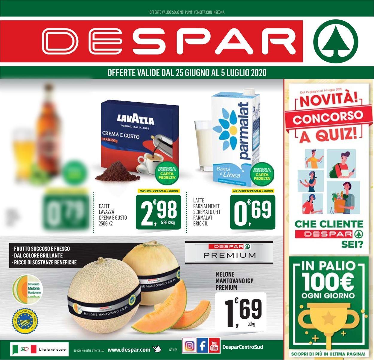 Volantino Despar - Offerte 24/06-05/07/2020
