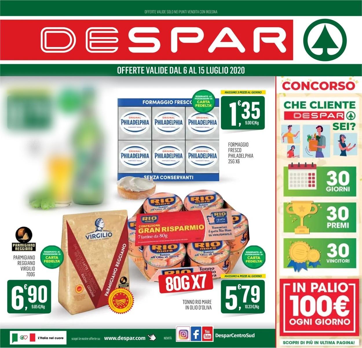 Volantino Despar - Offerte 06/07-15/07/2020