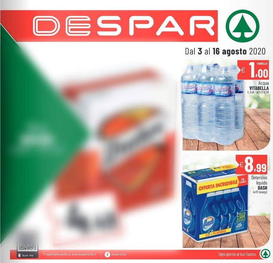Volantino Despar - Offerte 03/08-16/08/2020
