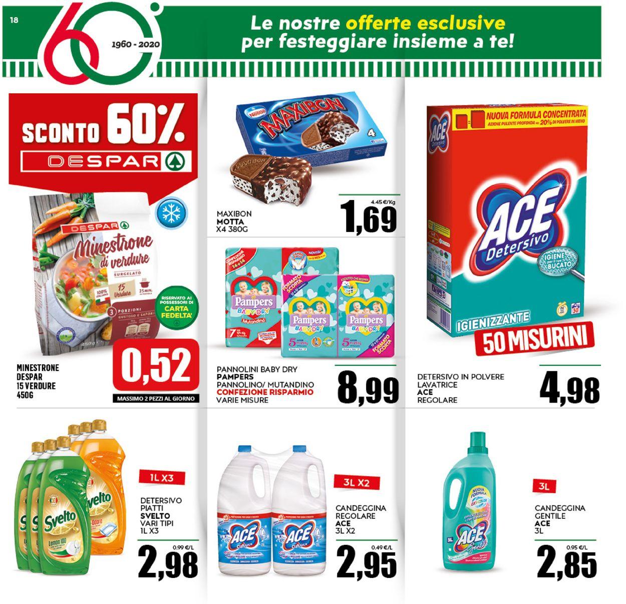 Volantino Despar - Offerte 16/09-27/09/2020 (Pagina 18)