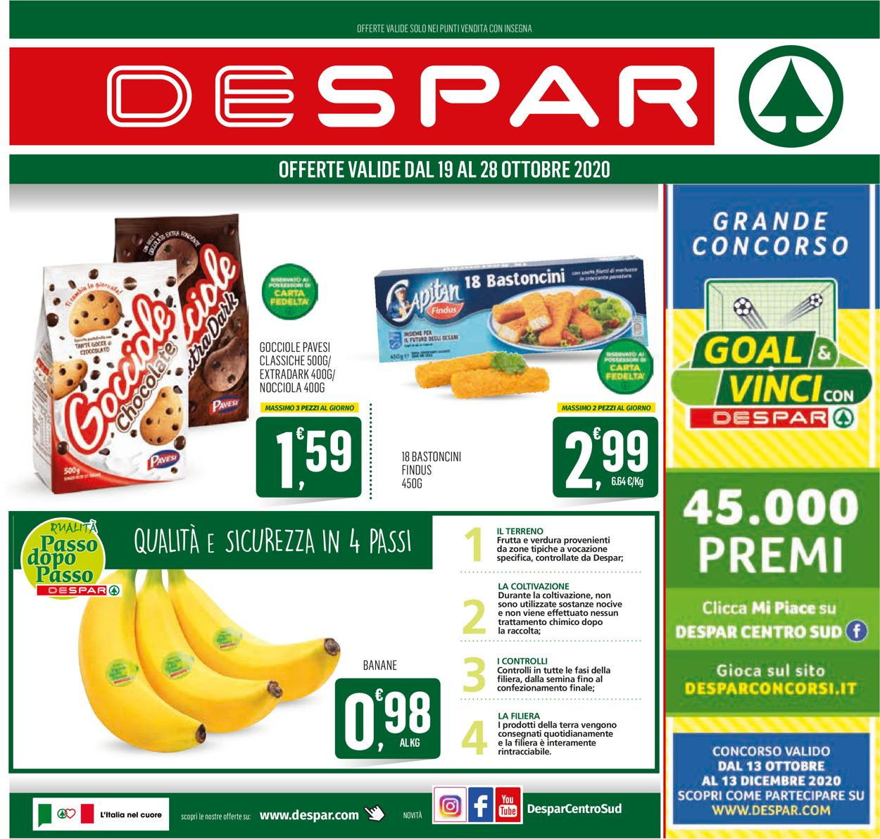 Volantino Despar - Offerte 19/10-28/10/2020