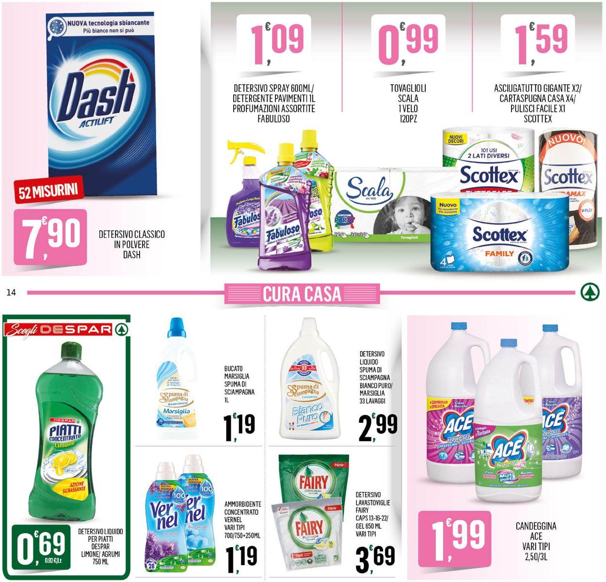 Volantino Despar - Offerte 28/10-08/11/2020 (Pagina 14)