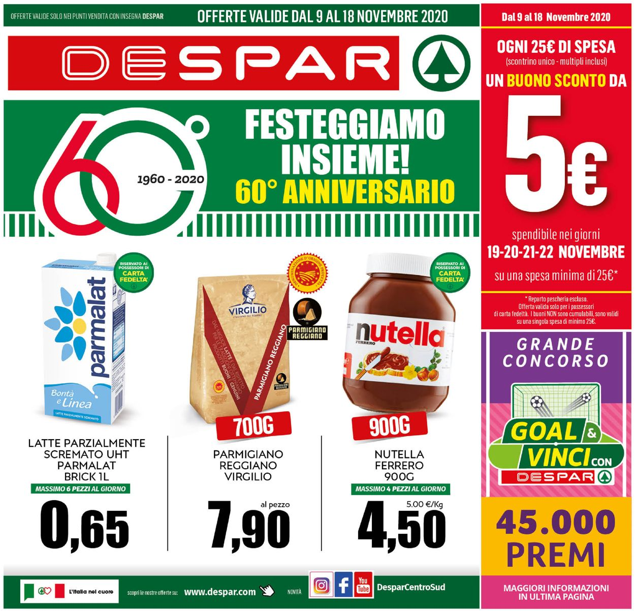 Volantino Despar - Offerte 09/11-18/11/2020