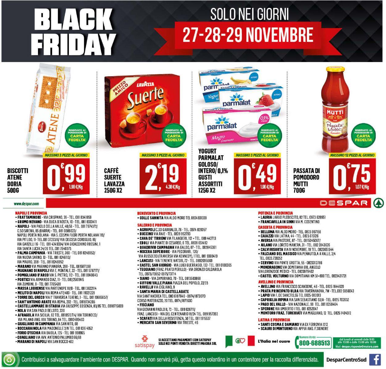 Volantino Despar - Black Friday 2020 - Offerte 23/11-02/12/2020 (Pagina 24)