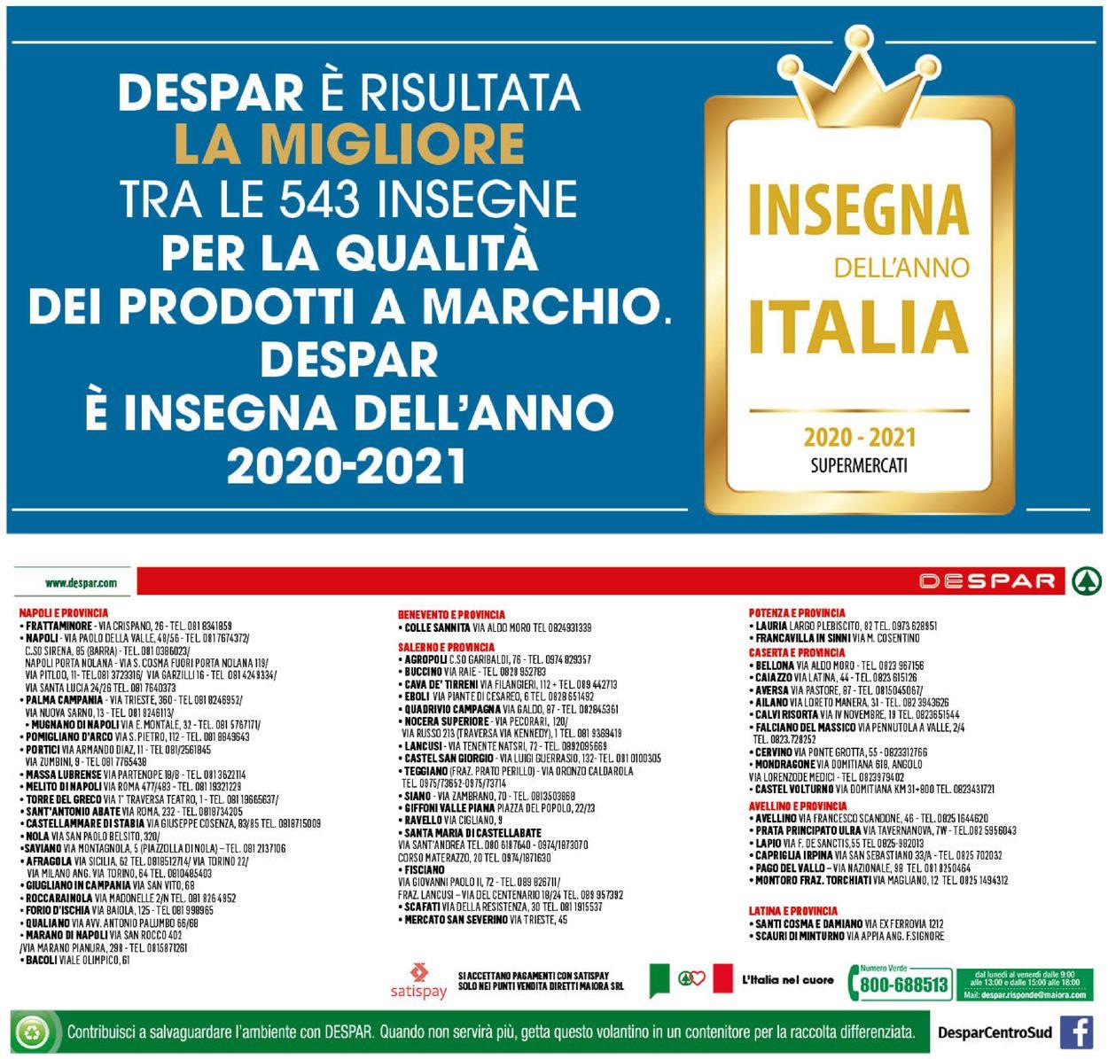 Volantino Despar - Offerte 28/01-07/02/2021 (Pagina 16)