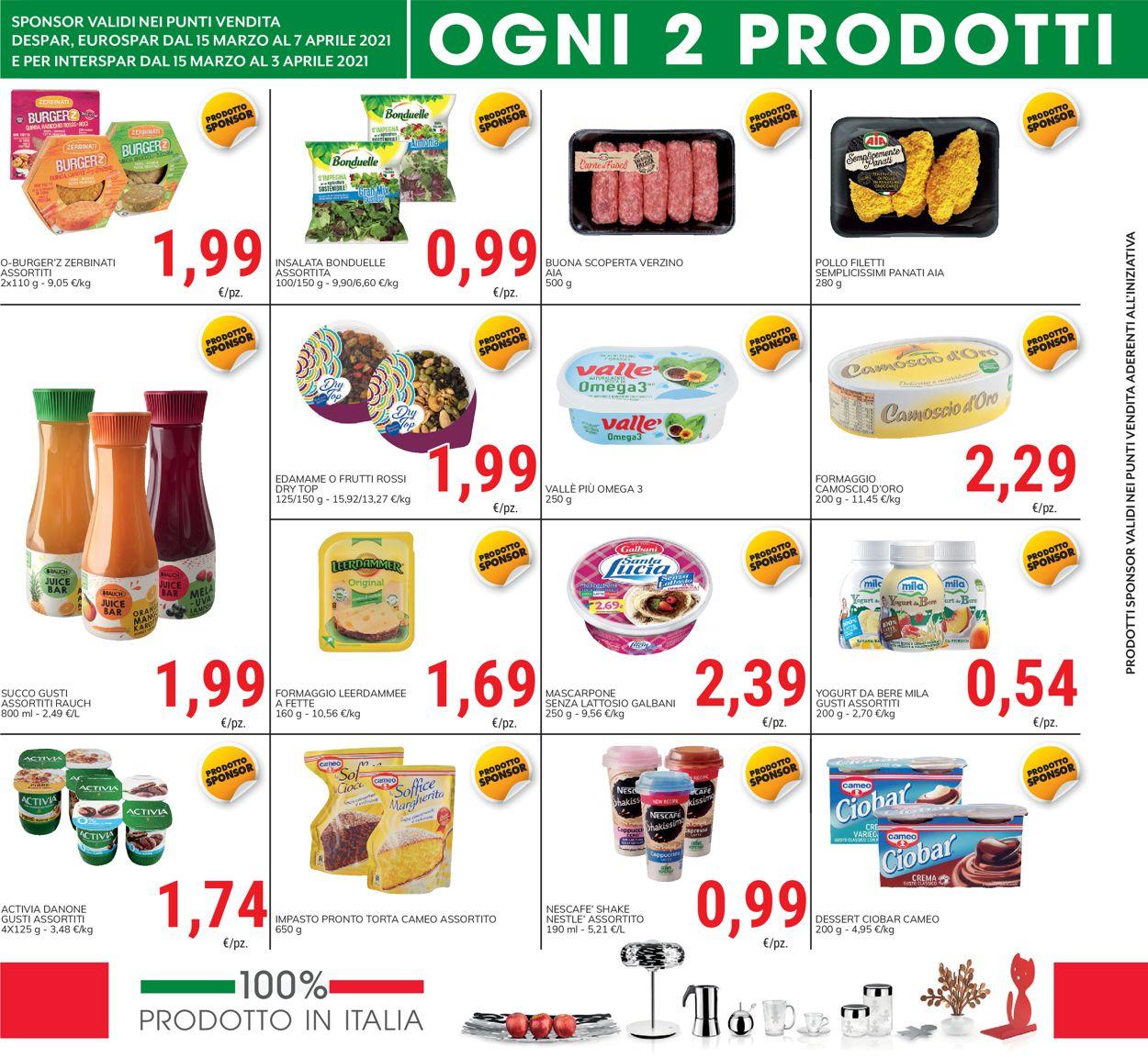 Volantino Despar - Offerte 15/03-07/04/2021 (Pagina 4)