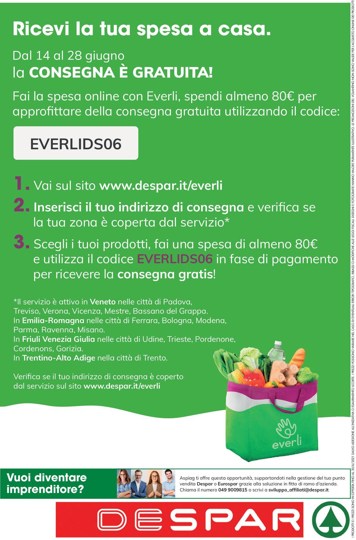Volantino Despar - Offerte 17/06-30/06/2021 (Pagina 24)