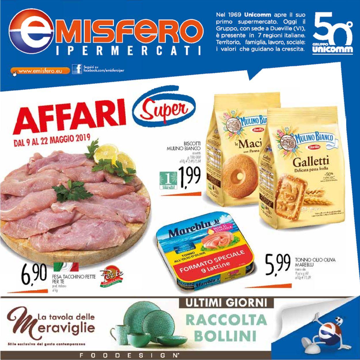 Volantino Emisfero - Offerte 09/05-22/05/2019