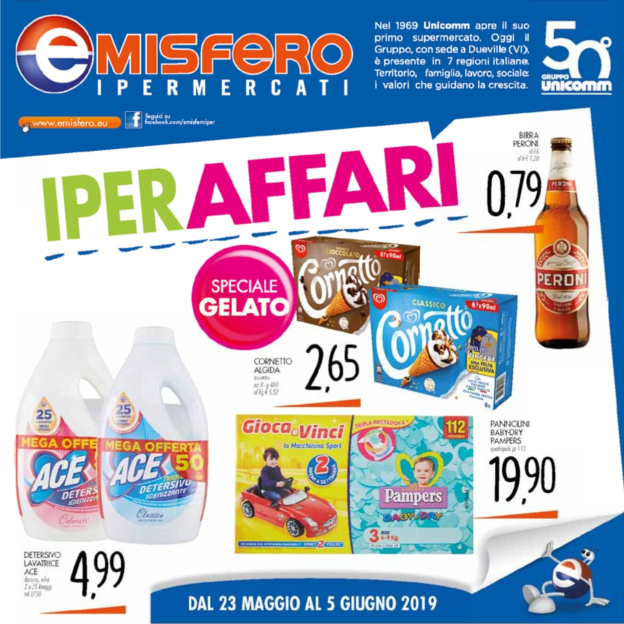 Volantino Emisfero - Offerte 23/05-05/06/2019