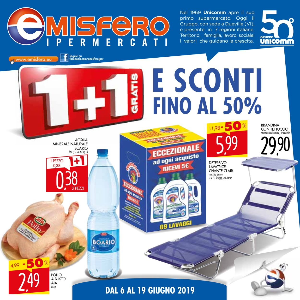 Volantino Emisfero - Offerte 06/06-19/06/2019
