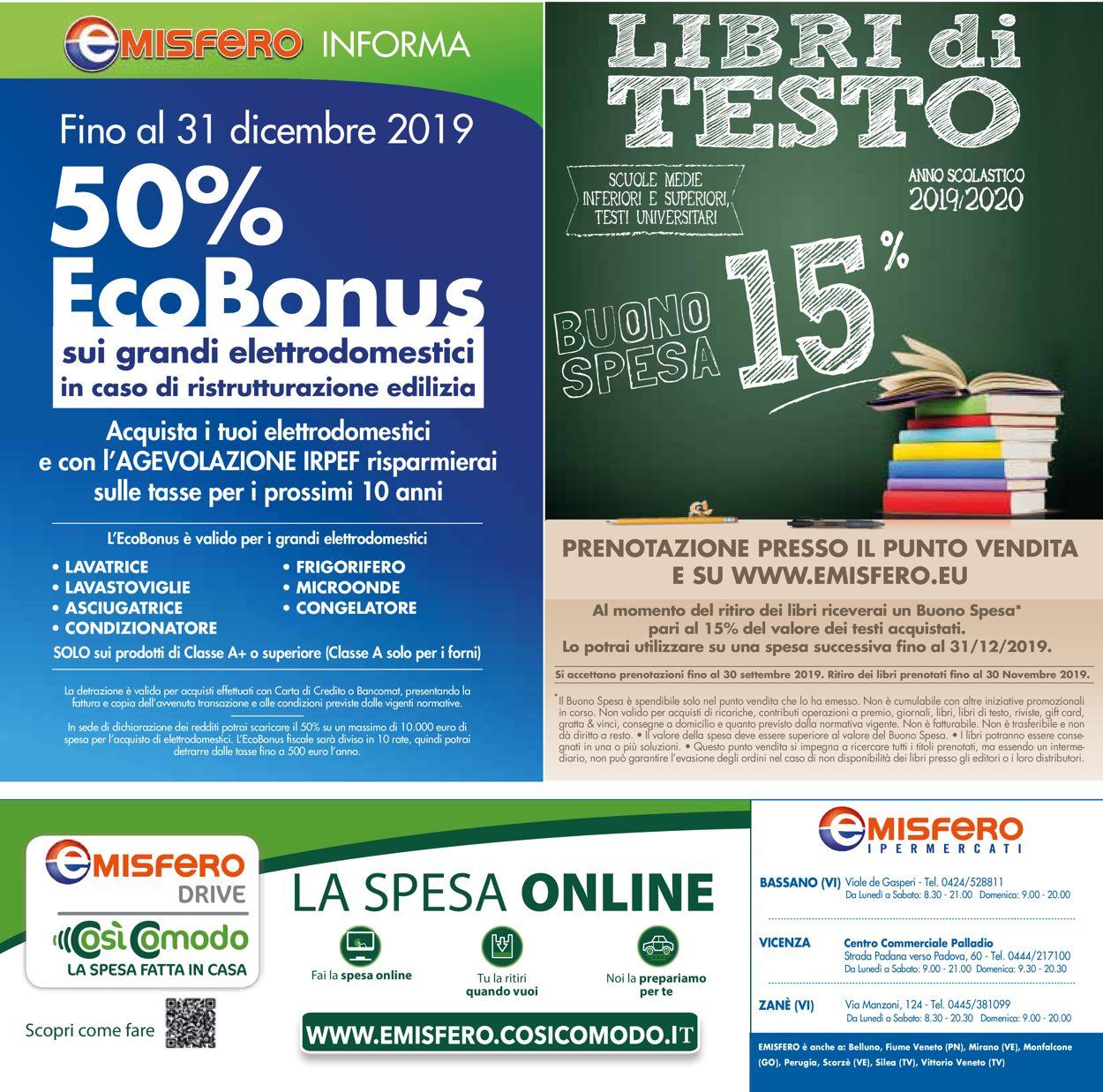Volantino Emisfero - Offerte 06/06-19/06/2019 (Pagina 32)