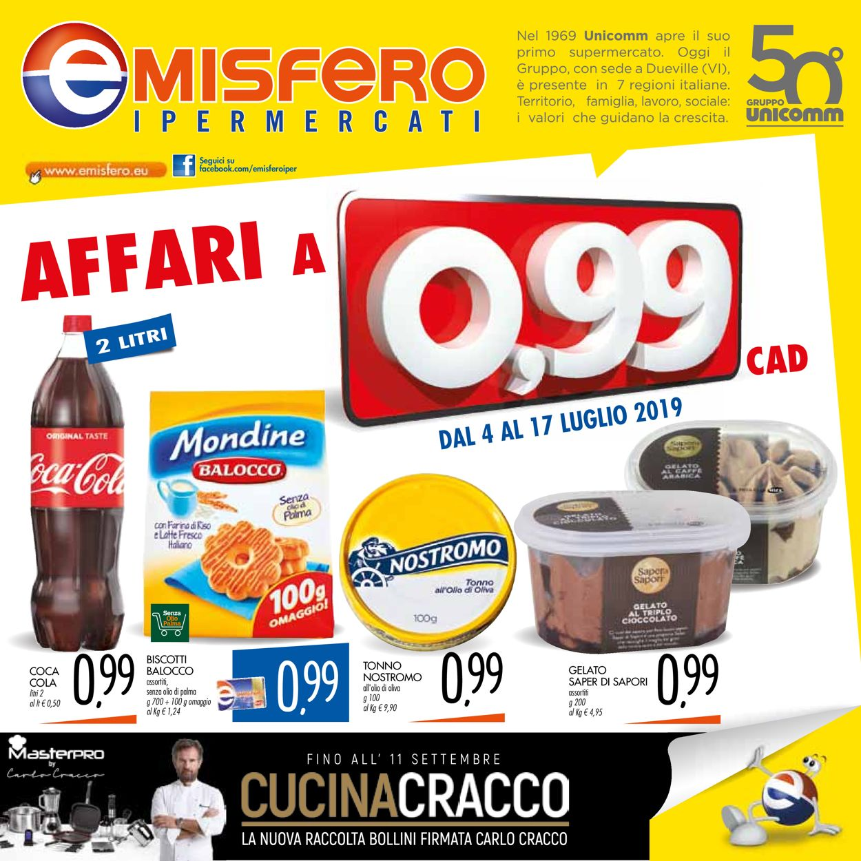 Volantino Emisfero - Offerte 04/07-17/07/2019