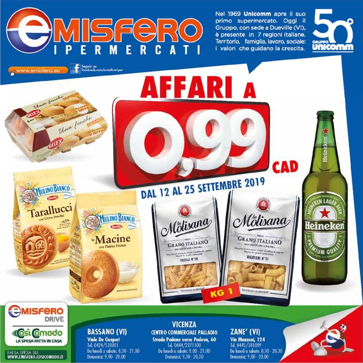 Volantino Emisfero - Offerte 12/09-25/09/2019