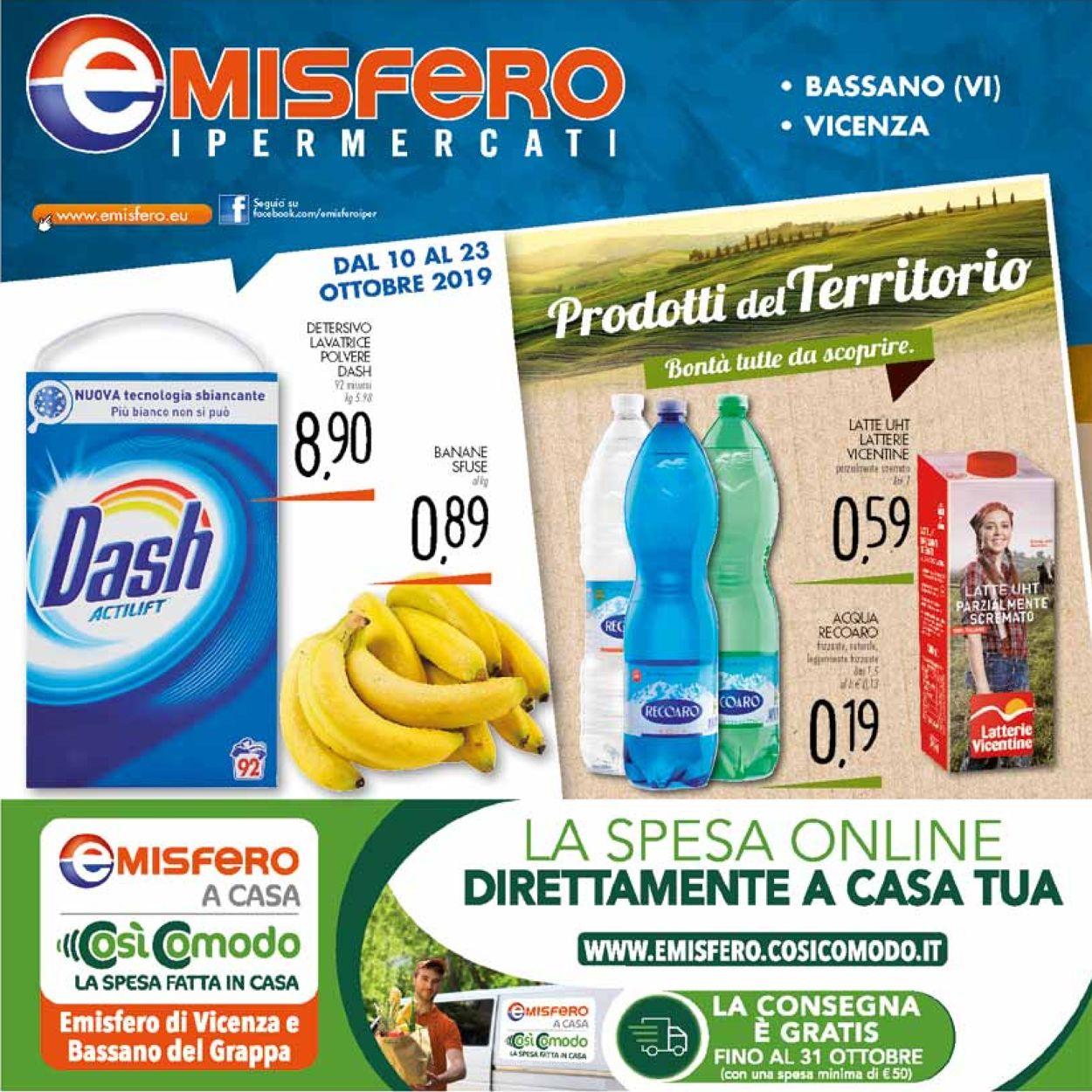 Volantino Emisfero - Offerte 10/10-23/10/2019