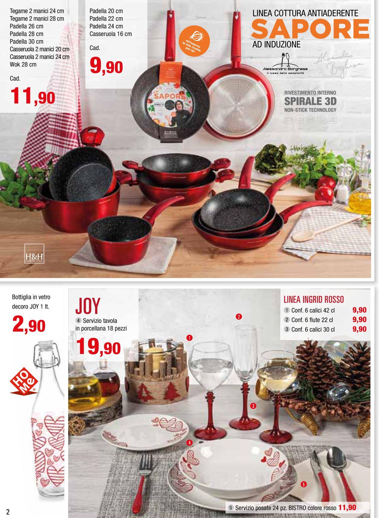 Volantino Il volantino natalizio di Emisfero - Offerte 14/11-24/12/2019 (Pagina 2)